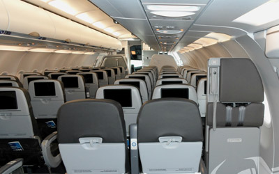 commercial aircraft Interior Capabilities
